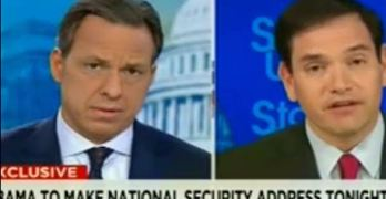 Jake Tapper called out Marco Rubio's vote to allow potential terrorist to purchase guns (VIDEO.