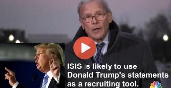 Tom Brokaw uses history to take down Donald Trump's anti-Muslim bigotry
