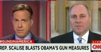 CNN Jake Tapper challenged GOP spin on Obama executive order on guns - This is journalism.