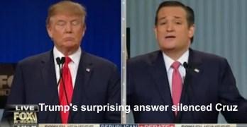 Donald Trump's response to New York slander made Ted Cruz appear like a petulant kid