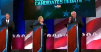Exchange between Sanders, O'Malley, & Clinton highlights Hillary's Wall Street vulnerability (VIDEO)