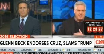 Glenn Beck CNN Chris Cuomo