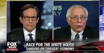 Bernie Sanders schooled Chris Wallace
