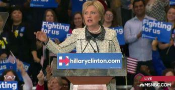 Hillary Clinton's big win