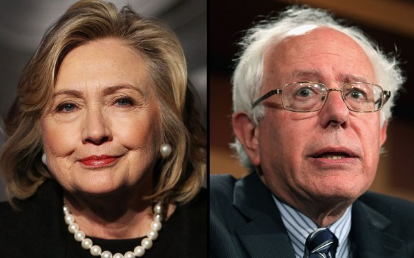 hillary clinton - bernie sanders - democratic party
