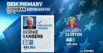 Bernie Sanders win