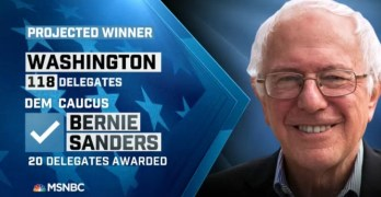 Bernie Sanders wins Washington and Alaska