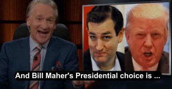 Real Time Bill Maher chooses between Donald Trump and Ted Cruz in New Rule (VIDEO)