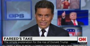 Fareed Zakaria puts full blame of Donald Trump's rise on GOP for very specific reasons (VIDEO)