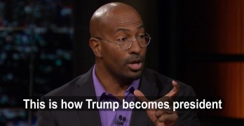 Guest on Real Time w/ Bill Maher points out how Trump could win presidency (VIDEO)
