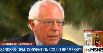 Bernie Sanders, Democratic National Convention will be messy
