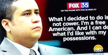 George Zimmerman Trayvon Martin gun