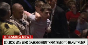 19yr old arrested at rally in Las Vegas wanted to kill Trump (VIDEO)
