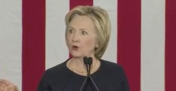 Hillary Clinton Cleveland Ohio speech