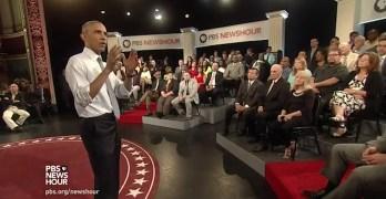 Obama's prophetic words on guns & terrorism Orlando prior