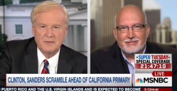 Sanders campaign manager turns table on Chris Matthews and he doesn't like it