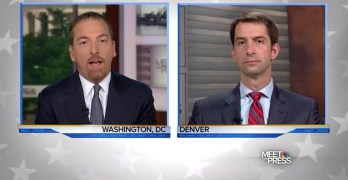Chuck Todd to GOP Senator - Your foreign policy more Clinton than Trump (VIDEO)