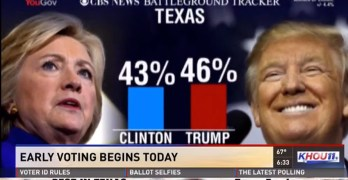 Early voting begins today & Clinton can win Texas – Important info here (VIDEO)