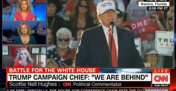 Exasperated CNN host asks Trump surrogate to name a poll where he is winning (VIDEO)