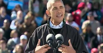 President Obama speech in Cleveland Ohio at Hillary Clinton rally (VIDEO)