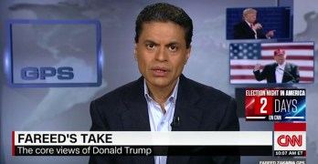 Impassioned Fareed Zakaria: Why Trump 'a danger to American democracy (VIDEO)