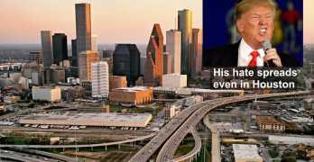 Trump Effect: Racist flier threatens apartment residents, Houston, TX (VIDEO)