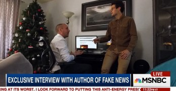 Fake News creator scolds news media: You should've been talking about this years ago (VIDEO)