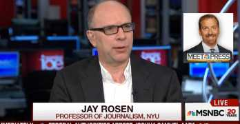 NYU Professor on a Chuck Todd response : That is a naive view (VIDEO)