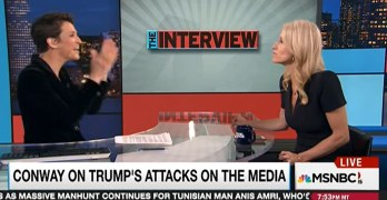 Rachel Maddow grills Kellyanne Conway on Trump lie and media suit (VIDEO)