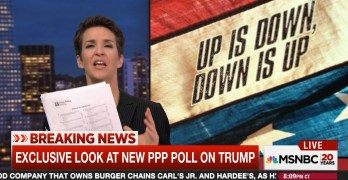 Rachel Maddow: Poll reveals Trump voters live in alternate state of reality (VIDEO)