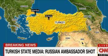 Russia Ambassador shot