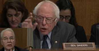 Sen. Bernie Sanders grills HHS appointee as he evaded drug price control