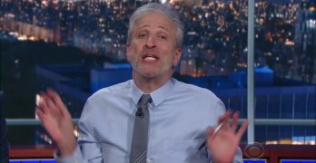 Jon Stewart skewersTrump for his lies and gives the media well deserved advice (VIDEO)