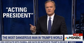 Lawrence O'Donnell: Mike Pence is the man Trump should fear (VIDEO)