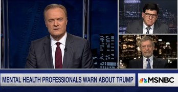 Mental Health Professionals warn about Trump (VIDEO)