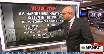 MSNBC Ali Velshi busted several big lies about our healthcare system (VIDEO)