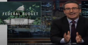John Oliver mocks Trump budget and the ludicrous claims made to justify its draconian cuts