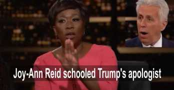 Joy-ann Reid schooled Trump apologist: Why Republicans won't turn on Trump (VIDEO)