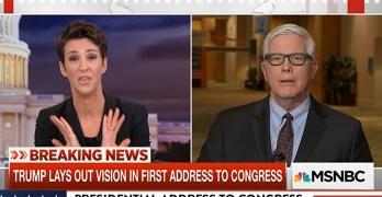 Rachel Maddow battles Trump apologist defending him blaming generals for Yemen (VIDEO)