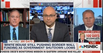Ali Velshi & Howard Dean calls out Republican lying about violence and border in real time