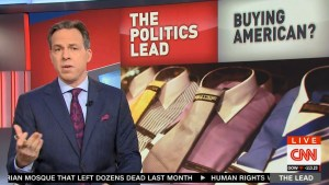 CNN Jake Tapper effectively calls out Trump Buy Hire America Executive Order
