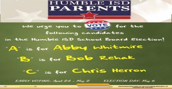 A message to Humble Independent School District parents/voters