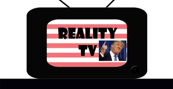 The launch of the Donald Trump presidential reality show