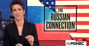 Rachel Maddow's excellent reporting on Trump & Russia driving Fox News crazy