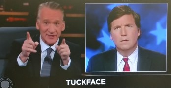 Bill Maher has some fun with Tucker Carlson's facial expressions (VIDEO)