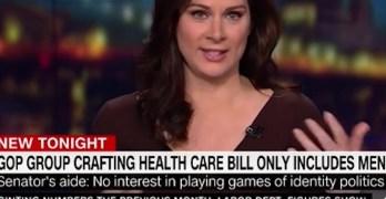 CNN Host calls out Republicans for having no women in Senate group deciding healthcare