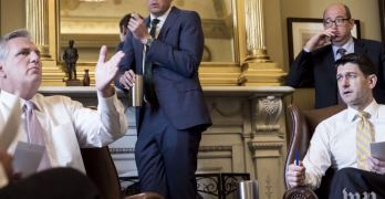 House Majority Leader said he thinks 'Putin pays' Trump in 2016 GOP meeting (VIDEO)