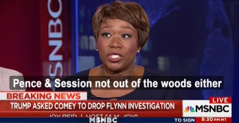 Joy-ann Reid: 'Pence and Session not out of the waters either' on Russia (VIDEO)