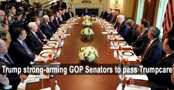 Donald Trump, Senators, Trumpcare