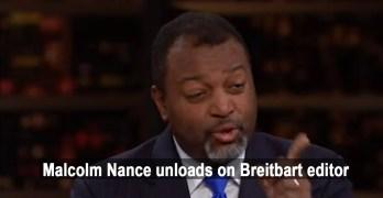 Malcolm Nance slammed Breitbart editor on Bill Maher & demanded apology (VIDEO)